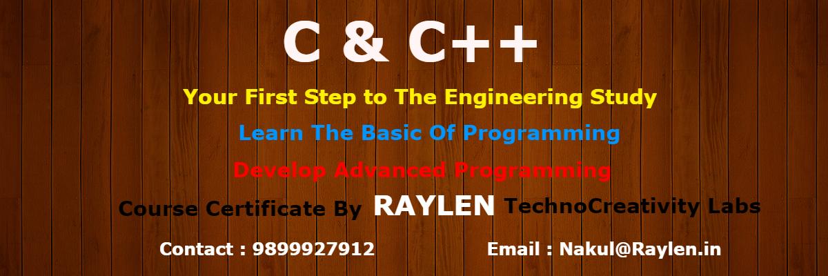 c & C++ training in delhi