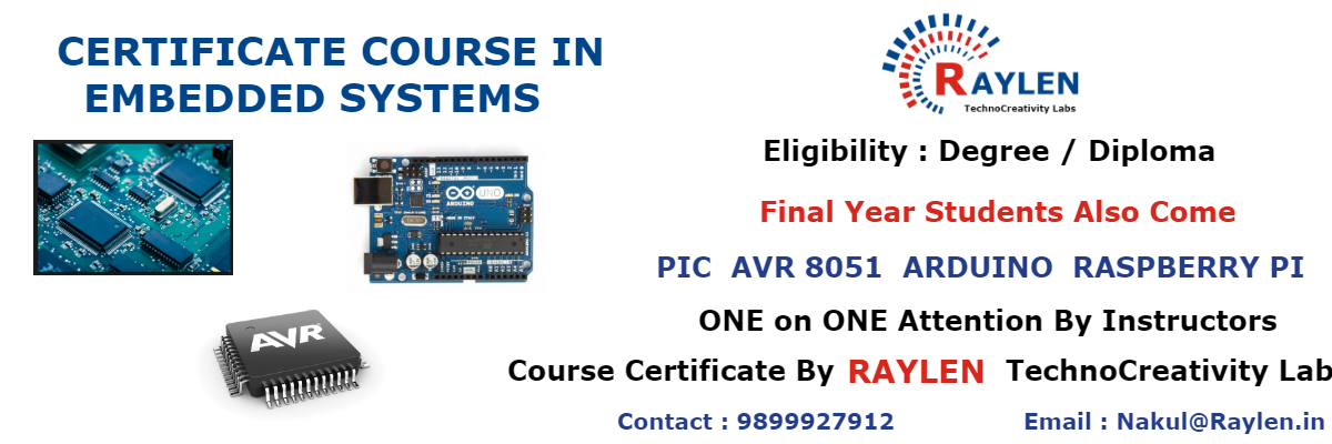 embeddded systems training in delhi