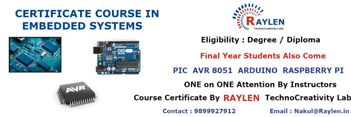 embeddded systems training in delhi